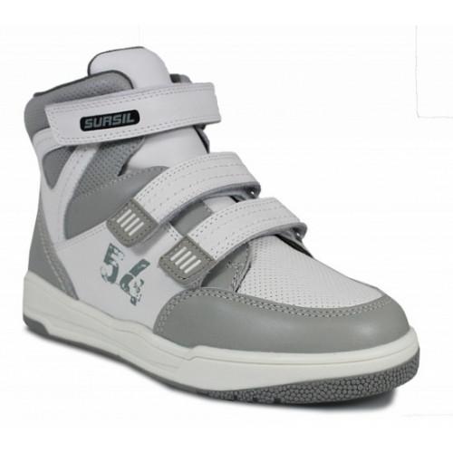 Ортопедические ботинки на весну\осень для мальчика Sursil-ortho артикул 65-150
