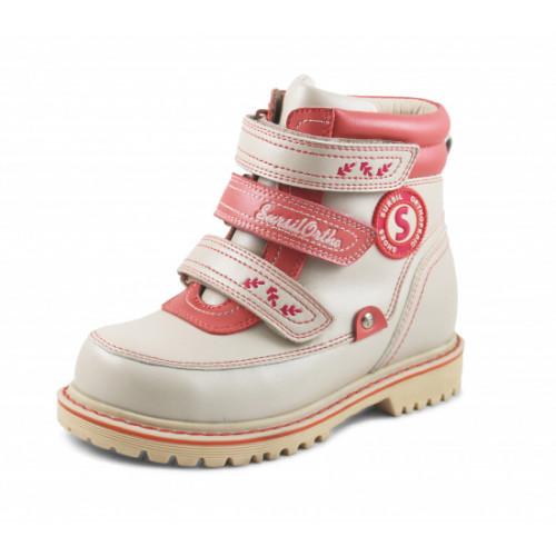 Зимние ортопедические ботинки для девочки Sursil-ortho артикул А45-015