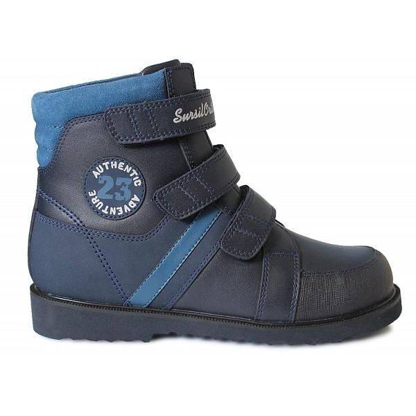 Ортопедические ботинки на осень-весну Sursil-ortho 23-289