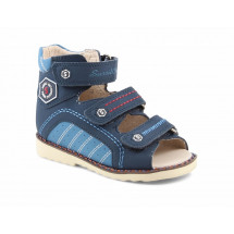 Ортопедические сандалии Sursil-ortho артикул 15-255S (для узкой стопы)