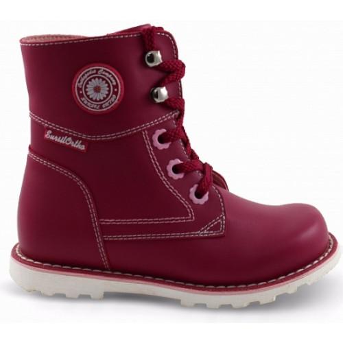 Ортопедические ботинки для девочек Sursil-ortho артикул 55-155