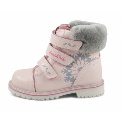 Зимние ортопедические ботинки для девочки Sursil-ortho артикул А45-020-1