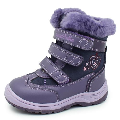 Зимние ортопедические ботинки для девочки Sursil-ortho артикул А43-048